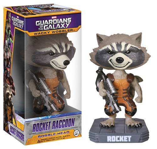 Rocket Raccoon - Os Guardiões Da Galáxia - Funko Bobble Head